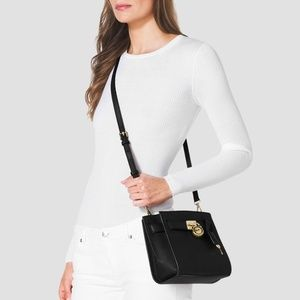 Michael Kors Hamilton Traveler Messenger Crossbody